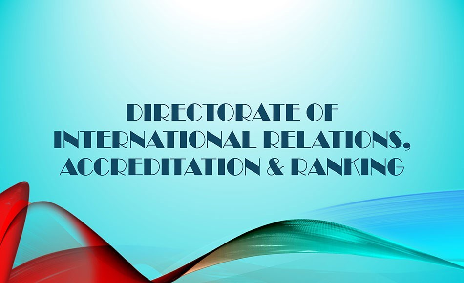 Directorate of International Relations, Accreditat