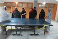 Sport competition at Narges Dorm