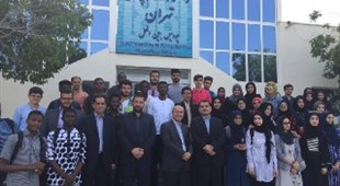 TUMS Kish Campus welcomed the respected Dr. Ali Arabkheradmand,together with Dr. Hassanzadeh