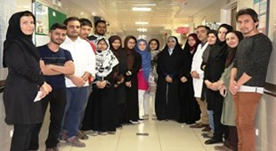 Zia'eeyan Hospital Tour of the International College Students