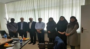 The Meeting of Isfahan University Delegates for Recognizing the Educational Affairs of TUMS International Students at school of Medicine – International Campus