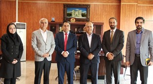 The Ambassador of Afghanistan met with the Chancellor and the Vice-chancellors of Tehran University of Medical Sciences.