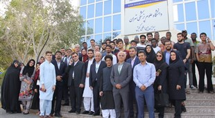 The Vice Dean for Educational Affairs of Ministry of Health and The Chancellor of Tehran University of Medical Sciences visited the Kish International Campus