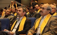 Dr. Jafarian, Dr. Arabkheradmand and Dr. Ziaei at the Professors